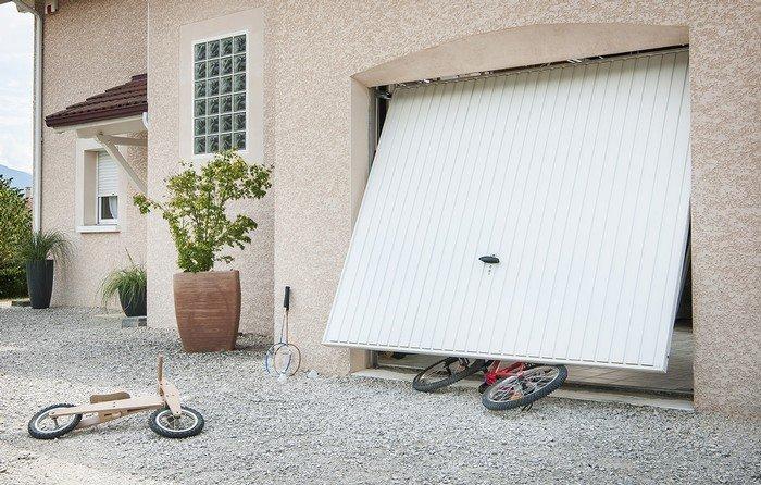 Elektrisch Garagedeur Automatisch Bedienbaar Somfy